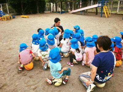 佐倉市内保育園の運動巡回指導を実施しています。